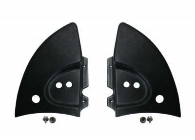 CONVERTIBLE TOP PARTS - Convertible Top Rubber, Pads, Hinge Covers & Parts - 151-198B-L/R-BK