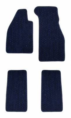 Carpet Kits & Floor Mats - Floor Mats - 113-400C-BL