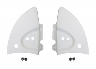 CONVERTIBLE TOP PARTS - Convertible Top Rubber, Pads, Hinge Covers & Parts - 151-198B-L/R