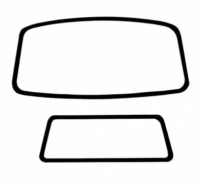 Window Rubber - Cal Look Window Rubber Kits - 211-037C