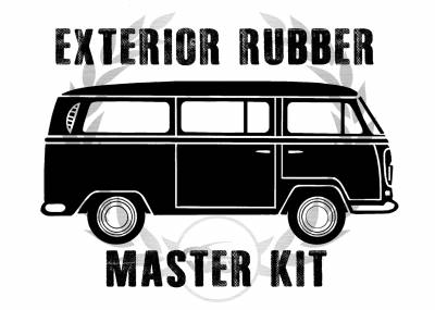 EXTERIOR - Door Rubber/Plastic - MK-211-041A