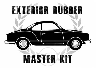Window Rubber - Window Rubber Cal Look Kits - MK-141-007C