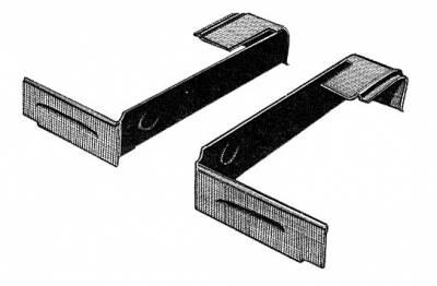 INTERIOR - Seat Parts & Accessories / Rear Kick Panels - 221-765B