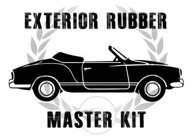 Window Rubber - Window Rubber Cal Look Kits - MK-143-009C