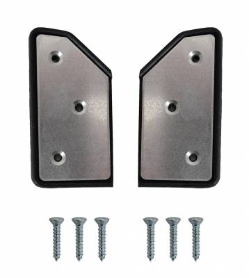 CONVERTIBLE TOP PARTS - Convertible Top Rubber, Pads, Hinge Covers & Parts - 151-410A-L/R