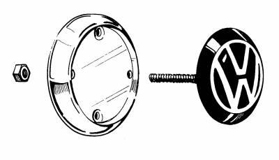 EXTERIOR - Body Molding, Emblems & Hardware - 143-901