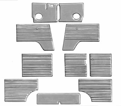 INTERIOR - Door Panels / Rear Panels & Accessories - 211-006-L/R-BK
