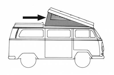 EXTERIOR - Camper Tops, Seals & Parts - 231-702-GY