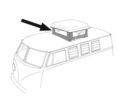 EXTERIOR - Camper Tops, Seals & Parts - 231-702A-GY