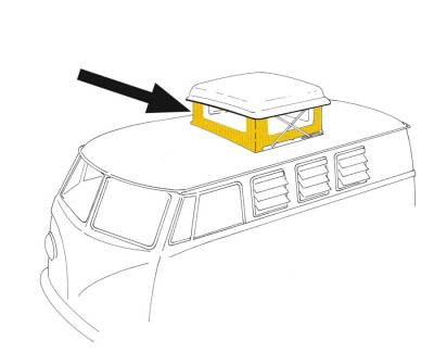 EXTERIOR - Camper Tops, Seals & Parts - 231-702A