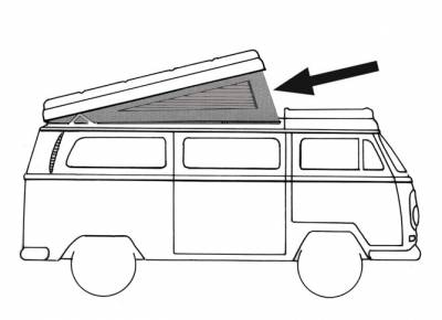EXTERIOR - Camper Tops, Seals & Parts - 231-703-GY