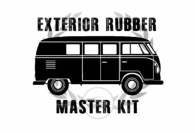 Complete Exterior Rubber Master Kits - Bus 1950-67 - MK-211-002FS
