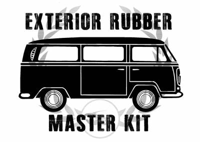 Complete Exterior Rubber Master Kits - Bus 1968-79 - MK-211-046AS
