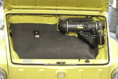 TRUNK COMPARTMENT - Parts & Hardware/In Trunk - 181-510A