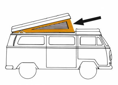 EXTERIOR - Camper Tops, Seals & Parts - 231-703-YL