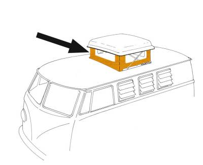 EXTERIOR - Camper Tops, Seals & Parts - 231-702A-YL