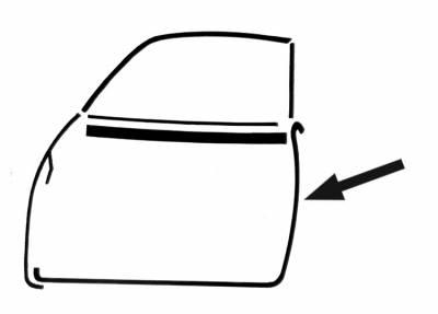 Exterior Parts - Ghia Exterior Parts - 141-731C-LOR