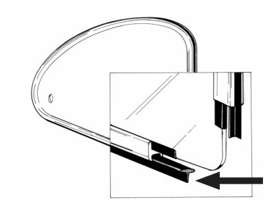 EXTERIOR - Quarter Window Parts - 113-135