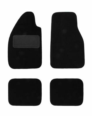 Carpet Kits & Floor Mats - Floor Mats (Rubber / Carpet / Coco Mats) - 113-400-BK