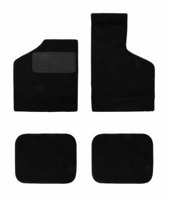 INTERIOR - Carpet Kits & Floor Mats - 311-400-BK