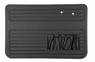 INTERIOR - Door Panels, Quarter Panels & Accessories - 131-011P-L/R-BK