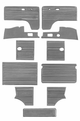 INTERIOR - Door Panels / Rear Panels & Accessories (Bus) - 211-018-L/R-BK