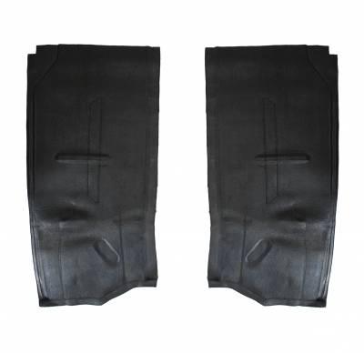 Carpet Kits & Floor Mats - Floor Mats - 234-665B-BK