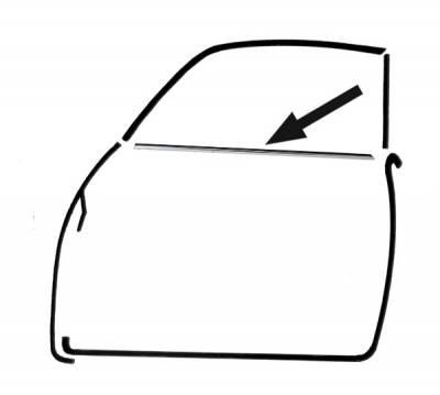 EXTERIOR - Door Rubber/Plastic - 141-471-L/R