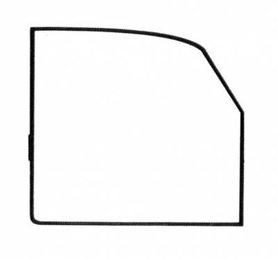 EXTERIOR - Door Rubber/Plastic - 113-722D-ROR
