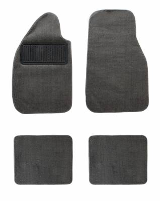 Carpet Kits & Floor Mats - Floor Mats (Rubber / Carpet / Coco Mats) - 151-400-GY